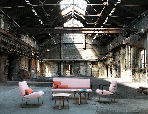 Canapé et fauteuil lounge