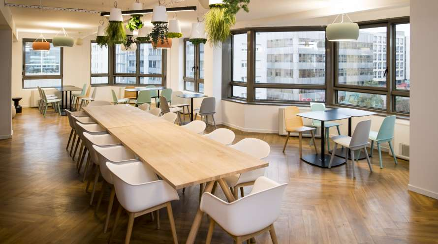 Aménagement des espaces de travail de 7partners