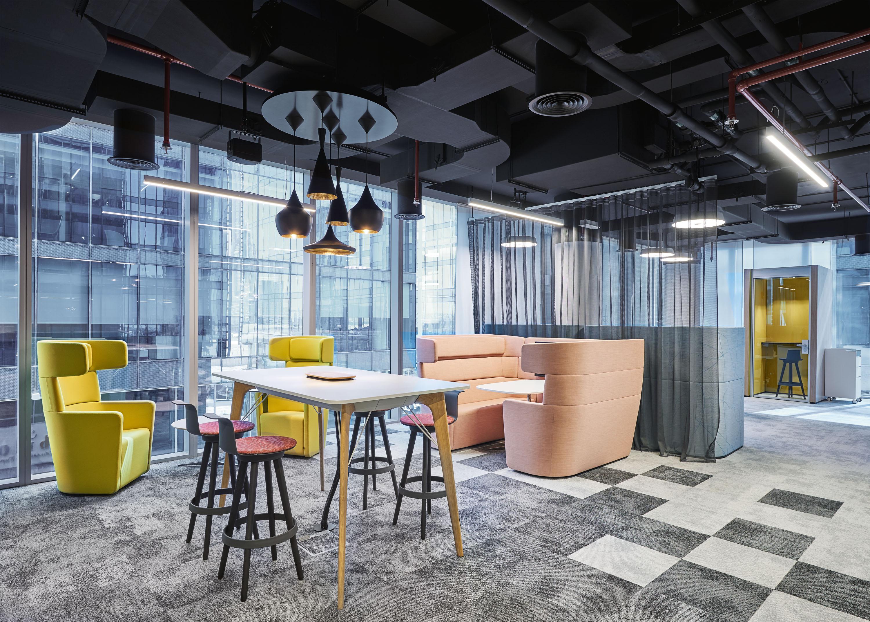 Exemple d'aménagements d'espaces de travail