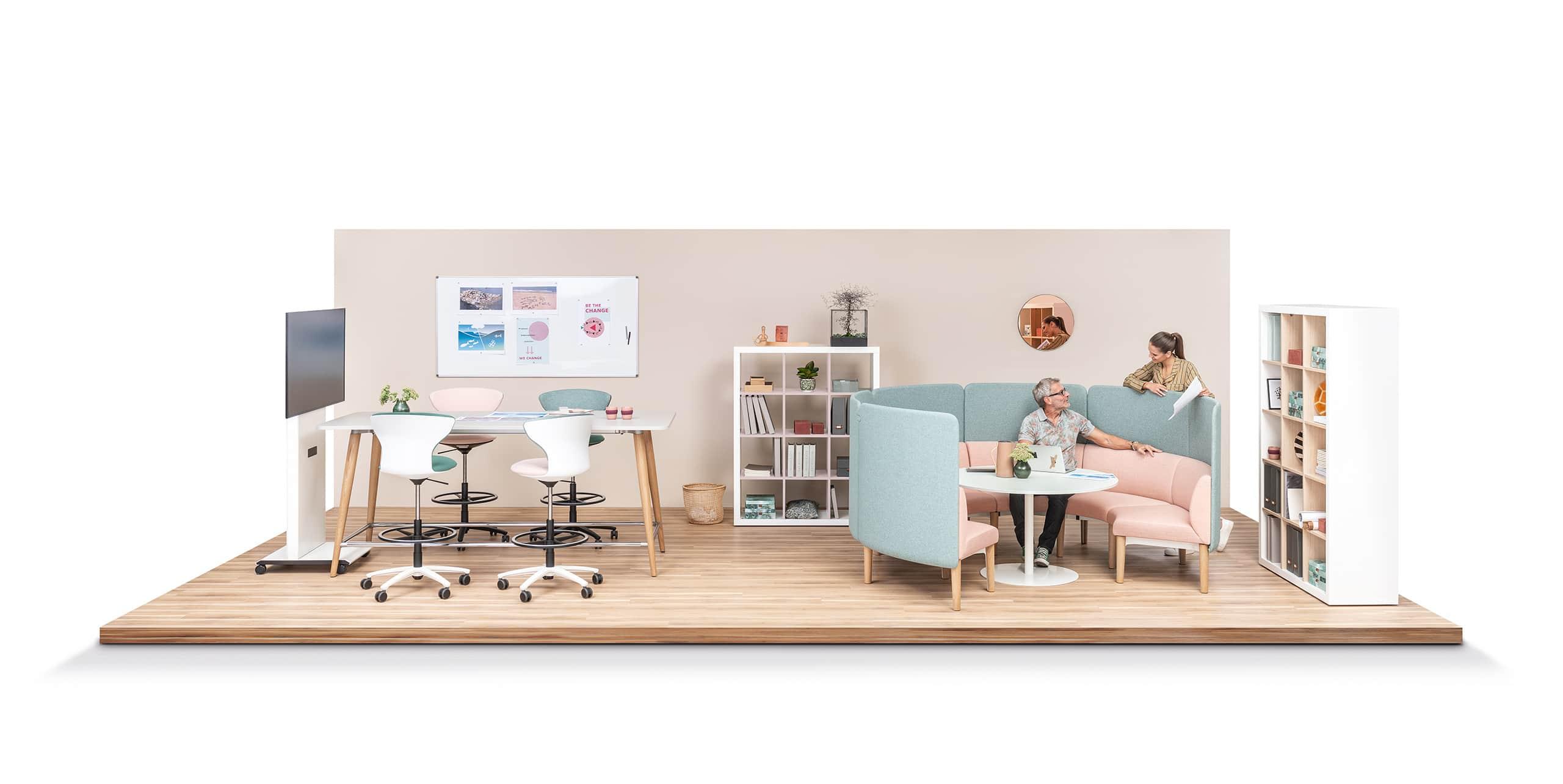 bureaux agiles par Apsi