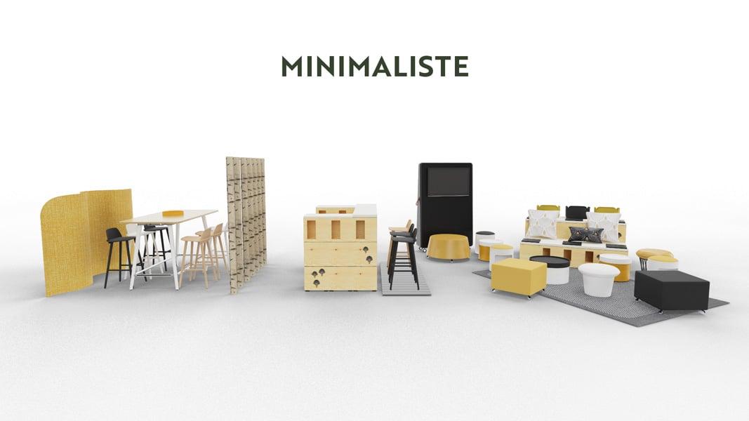 Stand Minimaliste