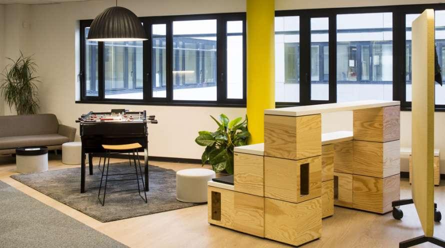 Aménagement d'espaces ouverts et collaboratifs pour GagnePark