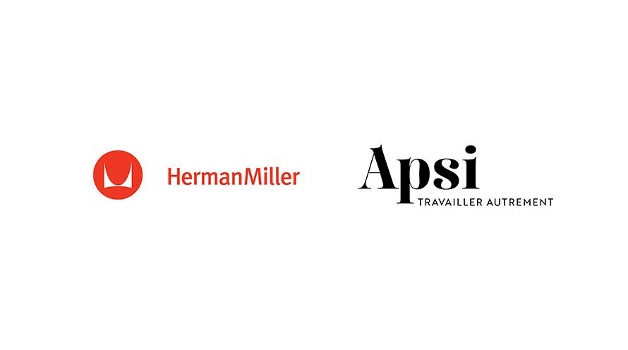 Partenariat entre Herman Miller et Apsi
