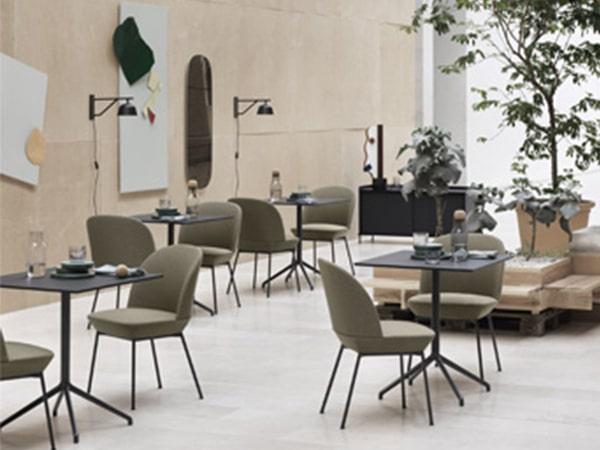 Mobilier pour cafés et restaurants