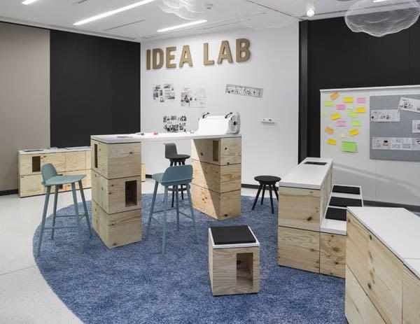Mobilier de bureau pour les espaces de travail collaboratifs
