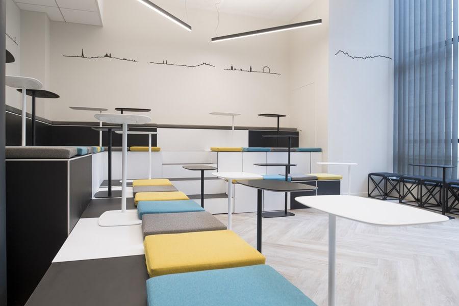 Tables pour salle de réunion Lan de Inclass