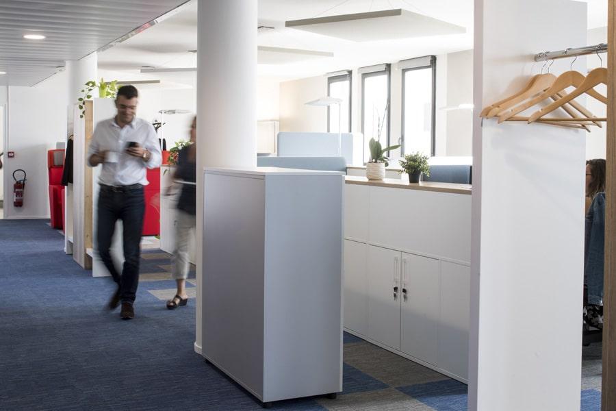 aménagement espaces de travail vinci construction france