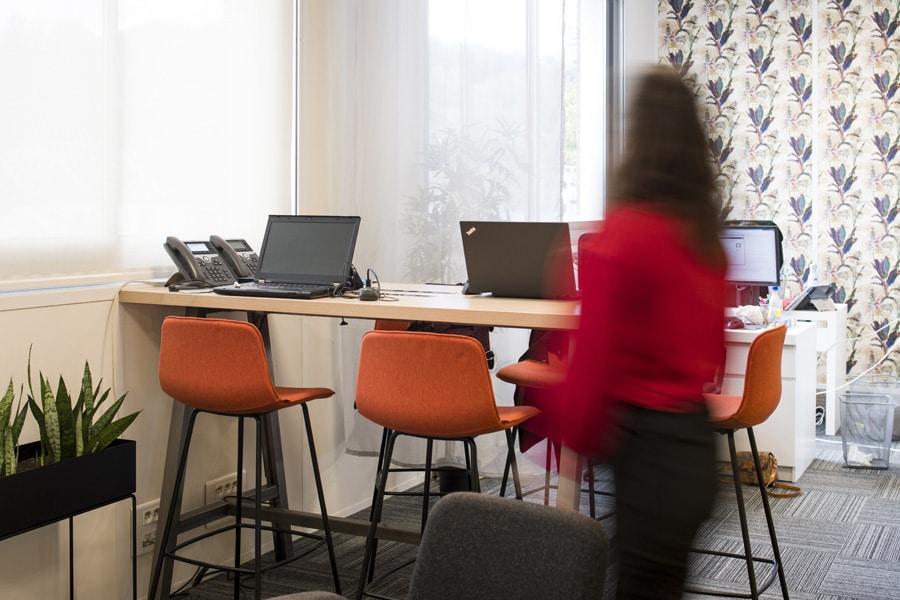 Aménagement des espaces de travail de Fortify